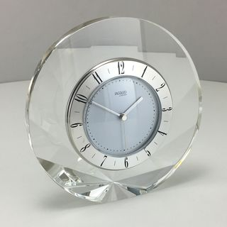 Jaccard Shell Clock Silver