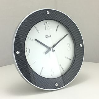 Atlee - Glass Wall Clock 31cm