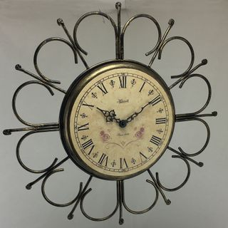 Avalon - Wrought Iron Wall Clock 43cm