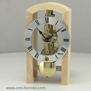 Patterson - Table Clock in Swiss Pine