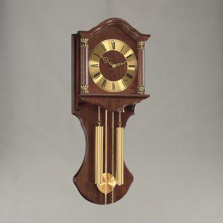 Wall Clock Walnut (quartz)