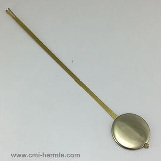Quartz Pendulum 55mm dia x 400mm Max length for Takane