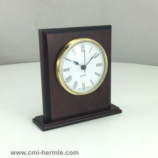 Premier - Table Clock Qtz - Gold