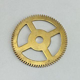 Brass Gear 39.5mm Dia. 78 Teeth