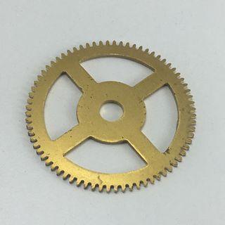 Brass Gear 39.3mm Dia. 72 Teeth