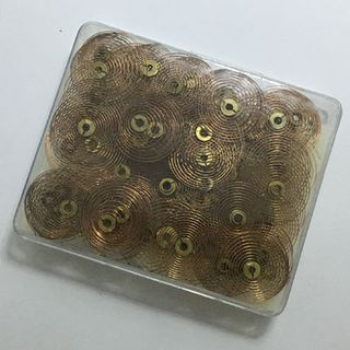 Hair Springs & Collets (72 Assorted)