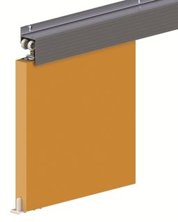 Forerunner Pelmet Door Track System