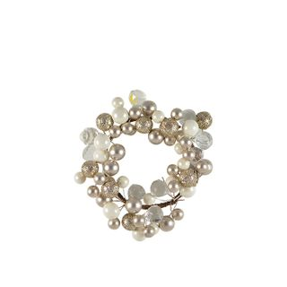 9cm Multi Coloured Pearl Candle Ring#