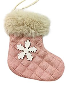 11x9.5cm Pink/Whi Fabric Stock W/Sn Fla#