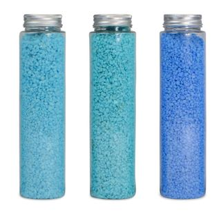 700Gr 2-5Mm Colour Rocks In TubeBlue 3a#