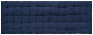 45x120cm Cotton Quilted Benchpad-Navy#