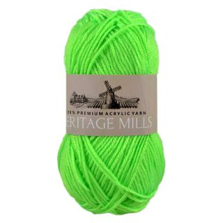 Supersoft Acrylic 8 Ply-100G-Fluro Green