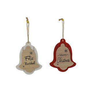 12x16cm 2 Layer Bell Hanger- Red#