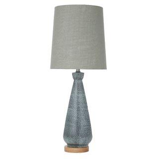 Botany Ceramic Lamp 30.5x76cm-Green