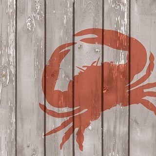 Crab 20pck 3Ply 33cm Napkin