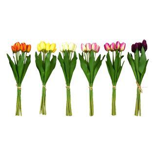 Tulip Bunch 42cm 7 Head- 6asst
