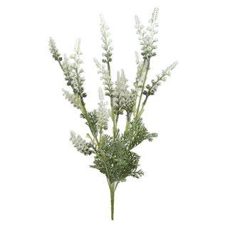 Lavender Stem 20x51cm- White