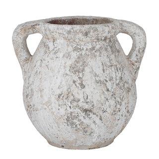 Pompei Cer Urn 54x45x50cm-Rustic White