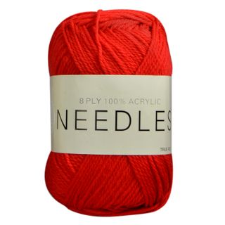 Yarn/8Ply/100 Gram/Acrylic/True Red