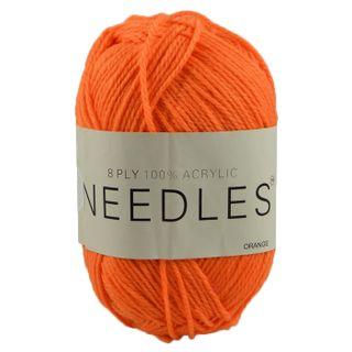 Yarn/8Ply/100 Gram/Acrylic/Orange