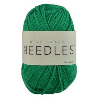 Yarn/8Ply/100 Gram/Acrylic/Leaf Green