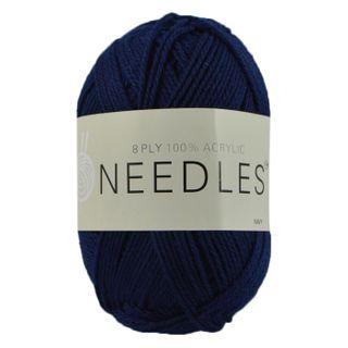 Yarn/8Ply/100 Gram/Acrylic/Navy Blue