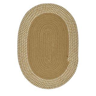 Demi Cott Oval Placemat 33x48cm Nat/Ivo