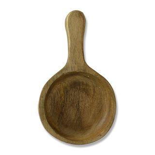 26x15x5cm Mango Wood Bowl With Handle