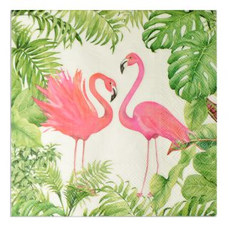 20pck 3Ply 33cm Lunch Napkin-Flamingo Ph
