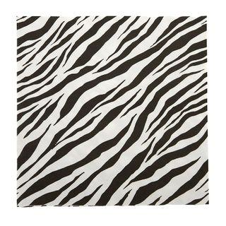 Zebra Print 20pck 3 Ply 33cm Napkin