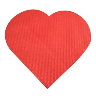 Love Heart 20pck 3 Ply 33cm Napkin
