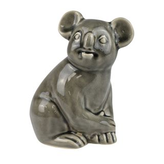 Keith Koala Sculpture 13.5x15cm Grey