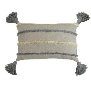 Dion Cotton Cushion 40x60cm- Light Blue