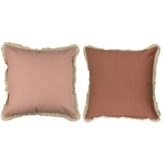 Sybill Cott Reverse Cushion 50x50cm Nud#