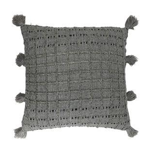Alida Cushion 50x50cm Grey/Charcoal