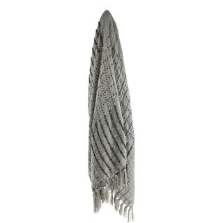 Alida Throw 125x150cm Grey/Charcoal