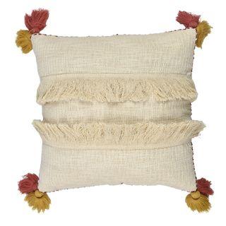 Macawi Cott Cushion 50x50cm Ivory/Blush