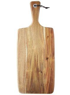 48x19x1.8cm Rect Acacia Paddle Serve Boa