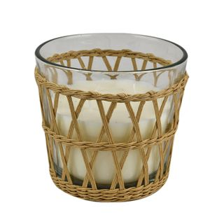 Isla Basket 230g 5% Candle 11.5x10cm-Nat