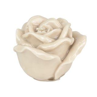 Rose 5% Candle 12.5x9.5cm Natural