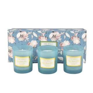 Doris 5% Scented Candle Gift Set Blue