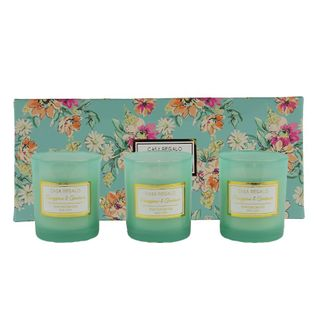 Doris 5% Scented Candle Gift Set Green