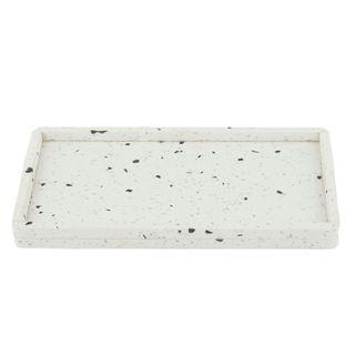 Terrazzo Tray 17x27cm White