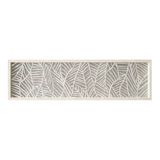 Long Beach Paper Wall Art 29x106cm-White