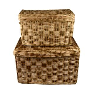 Lika S/2 Willow Trunk 80x55x50cm Natural