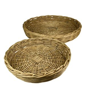 Lika S/2 Willow Trays 48x7cm- Natural