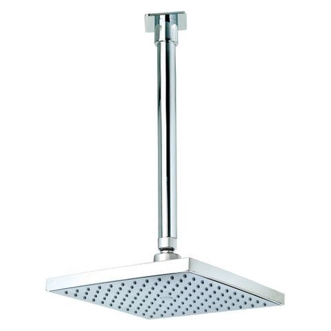 Quewb Vertical Ceiling Shower - 200mm