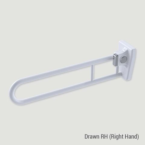 Tiltlock Bariatric Folding Rail WT - RH