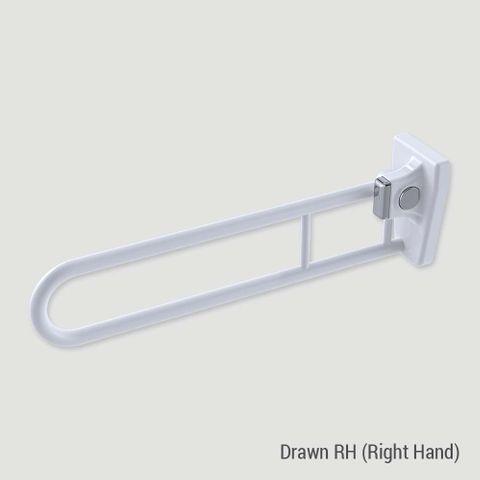 Tiltlock Bariatric Folding Rail WT - RH