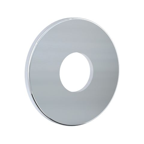 Flat Wall Flange - Chrome
